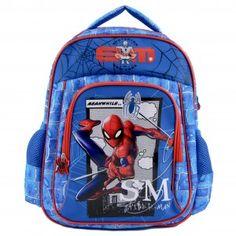 Ghiozdan mediu Spider-Man Spiderman, Under Armour, Backpacks, Bags, Fashion, Spider Man, Handbags, Moda, Fashion Styles
