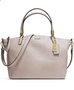 COACH MADISON SMALL KELSEY SATCHEL IN LEATHER - COACH - Handbags