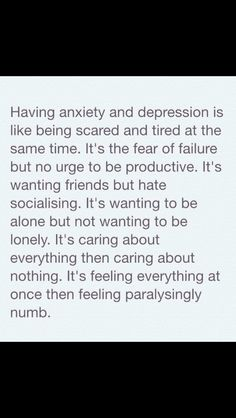 Anxiety & depression suck. Its a silent suffering that slowly engulfs the mind everyday, every second, every moment until it finally strangles you into compliance or acceptance. Its a darkness no one can describe nor forget.