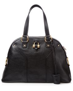 "Yves Saint Laurent ""Muse"" Large Classic Leather Bag - Cause I want to be Claire Underwood."