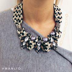 Collana €47,70 Spedizione gratuita  #manlioboutique Info: WhatsApp 329.0010906 #bijoux #necklace #accessories