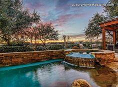 Austin Luxury Homes and Real Estate | Mediterranean Golf Course Estate  #AustinLuxuryHomeMagazine