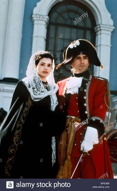 JULIA ORMOND & MARK FRANKEL in YOUNG CATHERINE (1991) Stock Photo Julia Ormond, Catherine The Great, Romantic Images, Movie Tv, Stock Photos, Costumes, Entertainment, Clothes, Stars