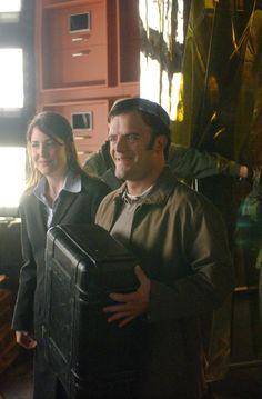 Alias - Amanda Foreman and Kevin Weisman aka Carrie Bowman  and Marshall Flinkman