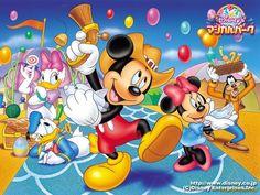 Mickey & gang