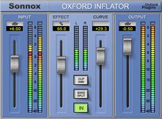 Sonnox Inflator - You need this in your master out signal path. First position.
