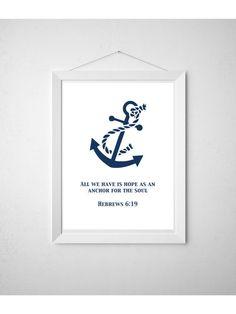 DIY Printable Wall Art #Nautical Print For Baby Boys Room by DesignsbyJamieIrene, $5.00