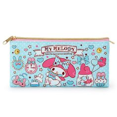 My Melody Reversible Pouch Sanrio Kawaii Japan f/s