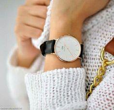 Imagem de watch, fashion, and style