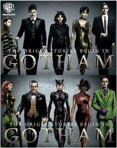 Con ganas de #Gotham ...
