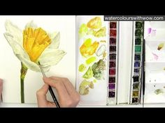 Shadows and yellow in watercolor with Anna Mason - YouTube