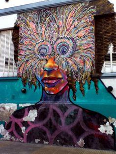Wide Eyed Street Art