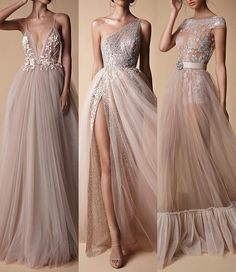 I can't choose which one i like the most! Elegant Dresses, Beautiful Dresses, Formal Dresses, Wedding Dresses, Plus Size Gowns, Gala Dresses, Embroidery Dress, Dream Dress, Pretty Outfits