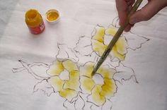 Come dipingere su tessuti