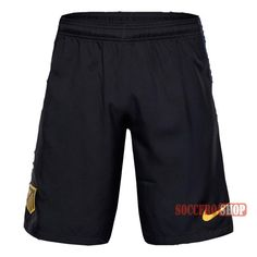 Special Offer: A+ Quality Atletico Madrid Black Soccer Shorts 2016-2017 Away | Soccero-Shop