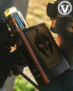 """What we do in life echoes in eternity!"" One of the best quotes from the Gladiator movie is perfect for this Friday and this Vape Setup Of The Day! ️ATTY- Drop RDA ️MOD- Gladiator Mod  Adorned in the sigils of the Bronze Age, the Gladiator is Vapemons' champion of vaping, displaying unadultered power and showmanship in any arena.  Protected by a brushed metal exterior exuding regality and class even in the midst of battle, the Gladiator's advanced chipset stays unharmed. *RDA Sold Separately"