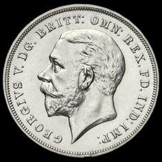 1935 King George V Rocking Horse Silver Jubilee Crown, G/EF