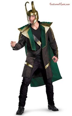The Avengers Loki Deluxe Adult Costume at Costumes4Less.com  sc 1 st  Pinterest & DIY Hawkeye Costume (Marvel) | Pinterest | Marvel Costumes and ...