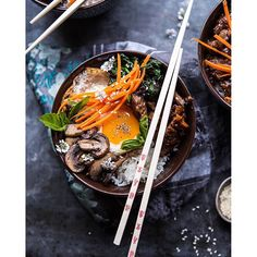 This Bibimbap with Steak & Gochujang Recipe is sure to be your new favorite take on a Korean staple! Try it today!