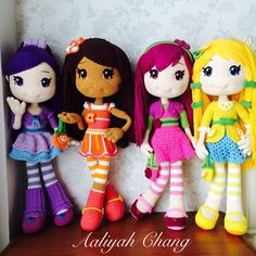 水果娃娃 #dolls #crochetdoll #amigurumi #craft #handmade #毛線娃娃 #編織 #編みぐるみ #手作り #人形娃娃 #mycreative_world