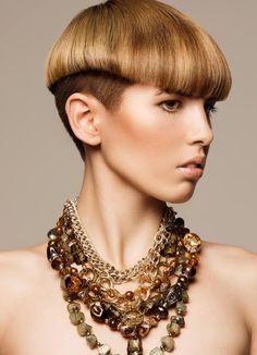 Grace trend interpretation by Anthony Bayer, Toni & Guy salon, Auckland. #hair #trendvision