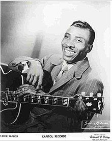 What do people think of T-Bone Walker? See opinions and rankings about T-Bone Walker across various lists and topics. Rock Music History, Jazz, Delta Blues, Today In History, Chuck Berry, Blues Artists, Blues Music, Sound Of Music, Jimi Hendrix