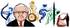 Google Doodles, Paralympic Athletes, Sticker Citation, Doodle 2, Ludwig, Second World, Founding Fathers, World War Two, Vignettes