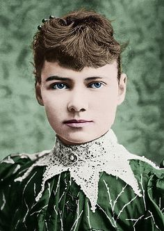 """Known by her pen name """"Nellie Bly"""", Elizabeth Cochran Seaman became famous when news spread about her record-breaking trip around the world in 72 days. She was a pioneer in her field and launched a new kind of investigative journalism."""