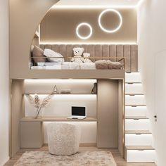 Small Room Design Bedroom, Modern Kids Bedroom, Modern Luxury Bedroom, Luxury Bedroom Design, Kids Bedroom Designs, Kids Room Design, Luxurious Bedrooms, Cama Design, Bed For Girls Room