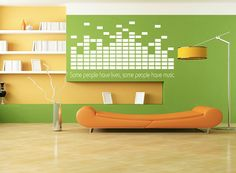 Awesome Music Equalizer Decal #equalizer #music #dj #love