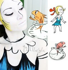 This Girl's Dr. Seuss Themed Body Art Is The Coolest Thing