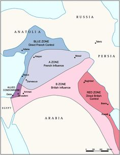 Sykes-Picot Agreement of 1916