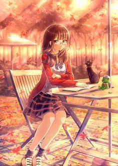 Anime Girls Cat Long Wallpaper 4565 - px Wallpaper about anime girls, cat,long hair, anime. Kawaii Anime Girl, Manga Anime Girl, Cool Anime Girl, Pretty Anime Girl, Anime Girl Drawings, Beautiful Anime Girl, Anime Girls, Fan Art Anime, Anime Artwork