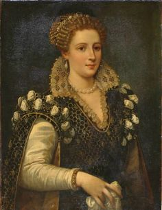 Isabella de' Medici, attributed to Allesandro Allori - Carnegie Museum of Art