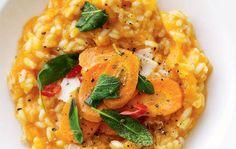 Giv din risotto mere smag og god kulør med velsmagende hokkaido.