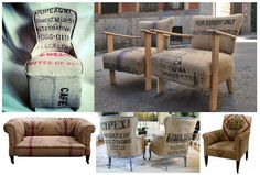 Sofa, silllones y sillas sacos cafe_blog