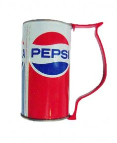 $5.00 Made In America Store Can Holder! Tired of your hands making your beverages warm? Try this can holder! Made from American Metal, this holder will fit newer cans and vintage ones! (obviously)