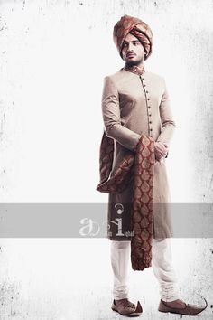 Arsalan Iqbal Men Sherwani Designs 2013