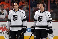 Drew Doughty and Mike Richards <3 Hot hockey boys!