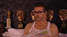 George in bed :)