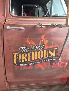 Truck lettering is effective promoting. Truck lettering is a cheap approach to advance your message or brand.Truck lettering for all sizes of autos vans and trucks. Truck Lettering, Hand Lettering Fonts, Vintage Lettering, Door Letters, Painted Letters, Hand Painted Signs, Old Trucks, Vintage Trucks, Pickup Trucks