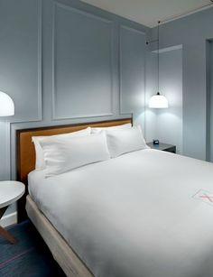 A peek at the new Axiom Hotel, a tech-focused San Francisco hotel that's slated to open in early 2016.