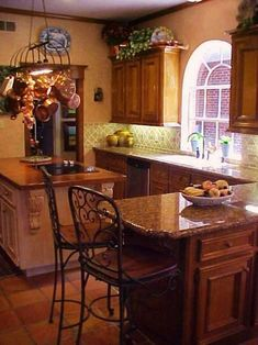 Kitchen , Tuscan Kitchen Windows Style : Arched Tuscan House Windows