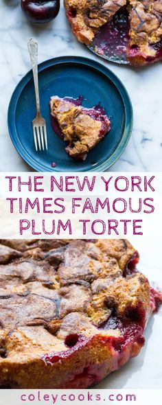 New York Times Famous Plum Torte (Video!) The New York Times Famous Plum Torte (Video!)The New York Times Famous Plum Torte (Video! Plum Recipes, Tart Recipes, Fruit Recipes, Baking Recipes, Dessert Recipes, Dutch Recipes, New York Kuchen, Köstliche Desserts, Delicious Desserts