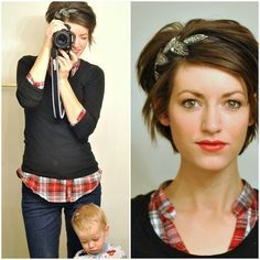 Ways to Style Short Hair7