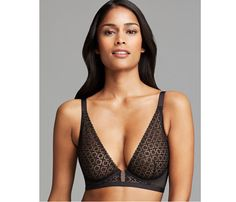 Must-Have Lingerie: The New Shape. Tons of designers are coming out with wider straps. Calvin Klein Underwear Bra, $62 is a bralette-strapless bra combo—you get both comfort and support. (And some heat, too.) #SELFmagazine