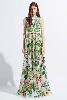 Valentino pre-spring/summer 2014: look for less http://www.ebay.com/itm/I10-NWT-Steve-Madden-Riviera-Romance-Long-Cap-Sleeve-Floral-Sexy-Full-Dress-Hot-/181084920894?pt=US_CSA_WC_Dresses==item6fcf39e55b