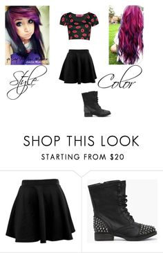 """Jeff Boyfriend Scenarios"" by x-xravenwolfx-x ❤ liked on Polyvore featuring Boohoo"