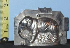 Vintage Elephant Chocolate mold. I  Adore  this & not seen as often. Photo via ebay