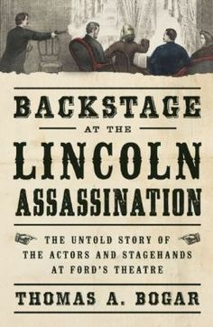 April 14, 1865. A famous actor pulls a trigger in the presidential balcony, leaps to the stage and escapes, as the president lies fatally wounded..This is the untold story of Lincoln's assassination: the forty-six stage hands, actors, and theater workers on hand for the bewildering events in the theater that night, and what each of them witnessed in the chaos-streaked hours before John Wilkes Booth was discovered to be the culprit.